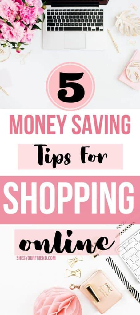 5 money saving tips for shopping online
