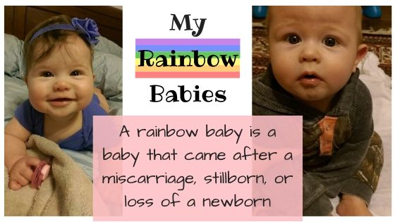 rainbow babies which are babies born after a miscarriage