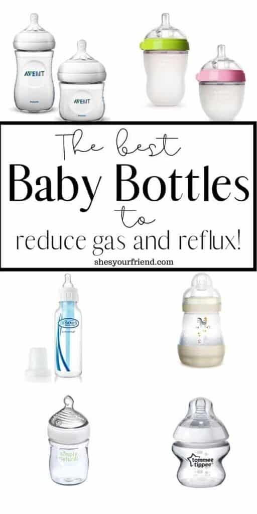 baby bottles that help reduce gas and reflux