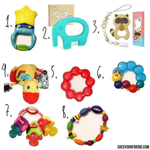 8 of the best teething toys for baby