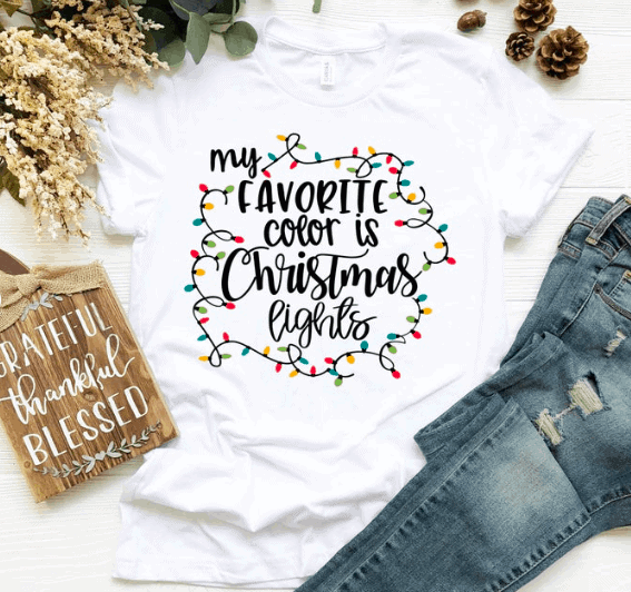 white christmas shirt from etsy