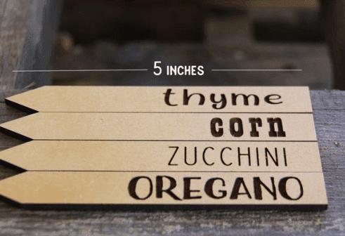 garden name stakes