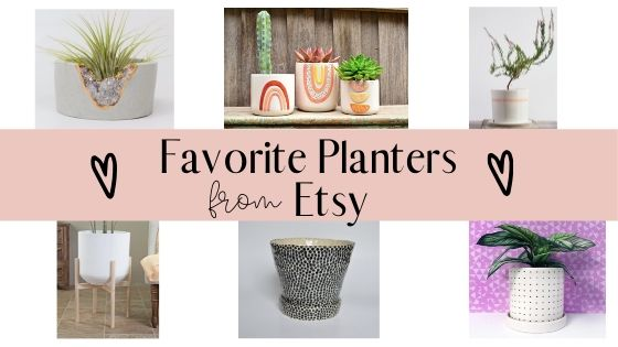 Favorite Planters on Etsy