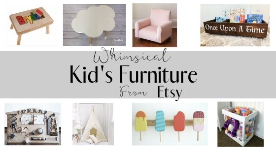 Fun Kids Furniture on Etsy