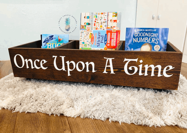 once upon a time book shelf