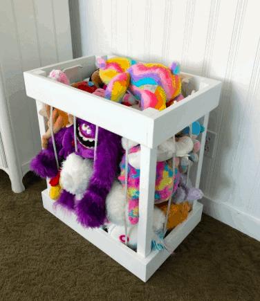 a stuffed animal zoo