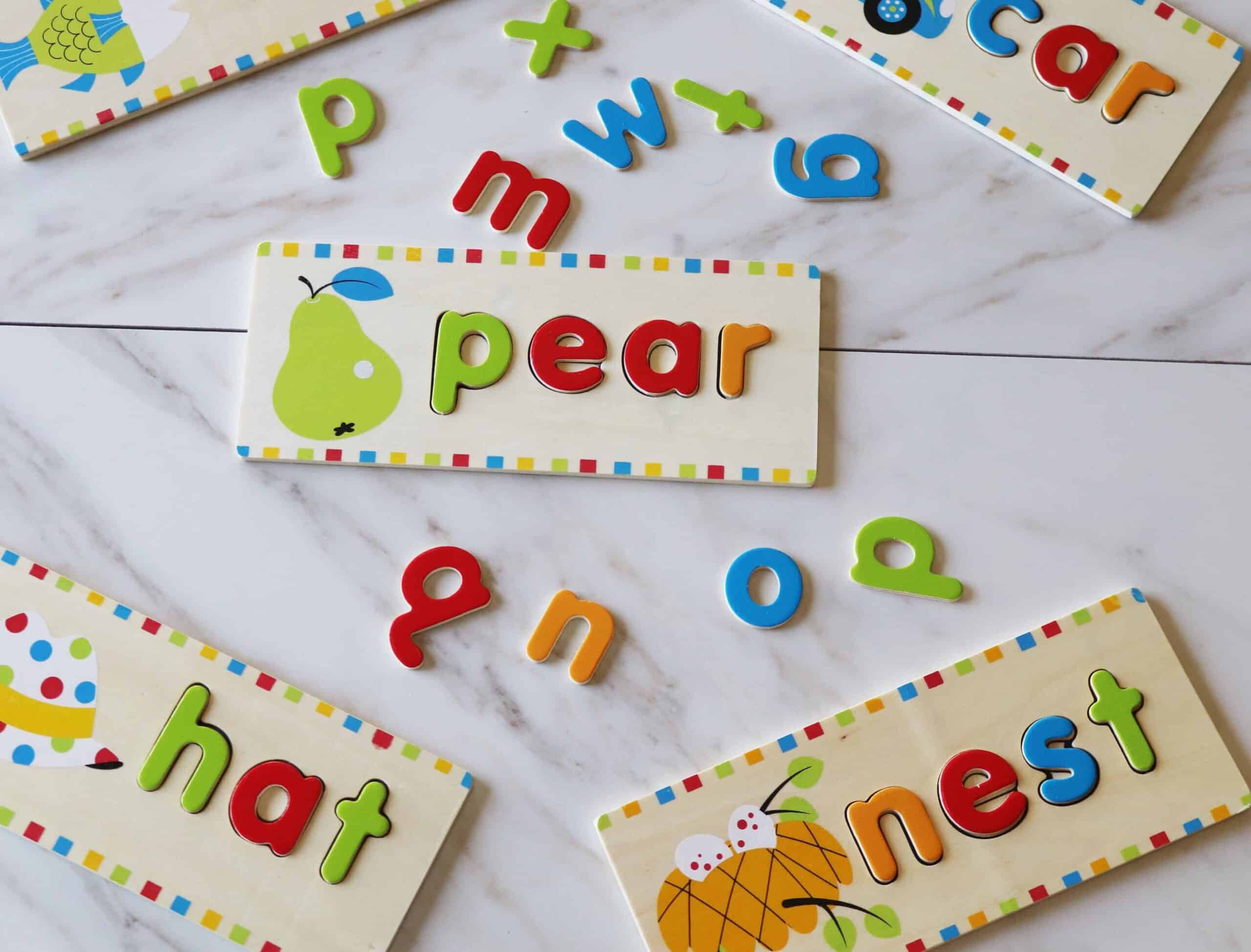 melissa and doug see and spell letter puzzles