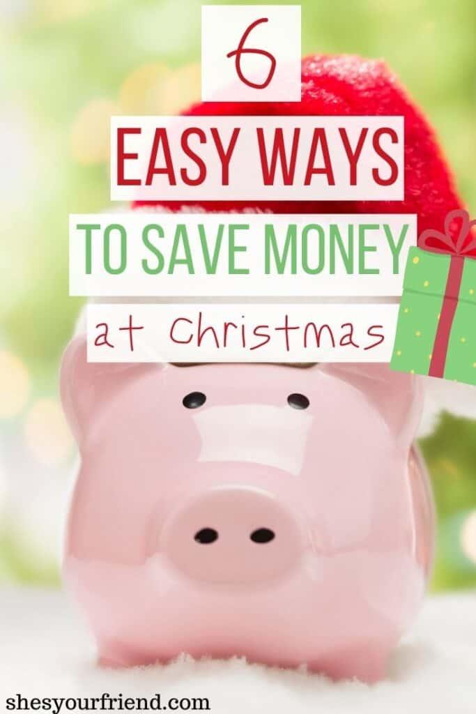 a piggy bank wearing a santa hat