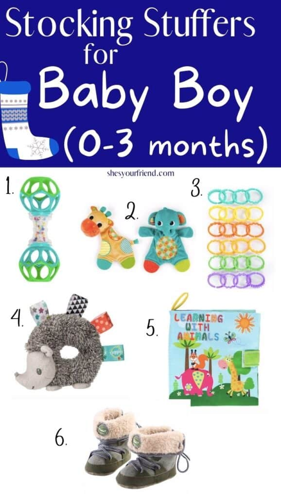 stocking stuffers for baby boy 0 to 3 months old