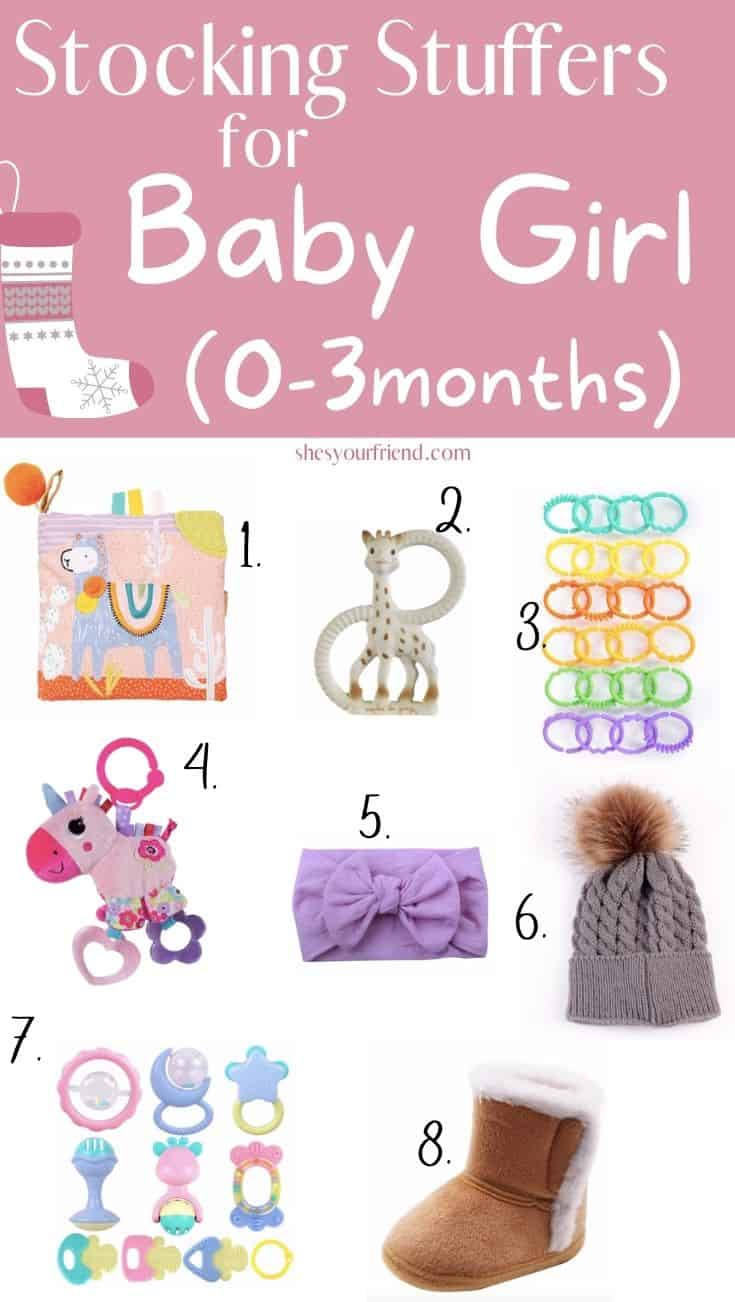 stocking stuffers for baby girl 0 to 3 months old