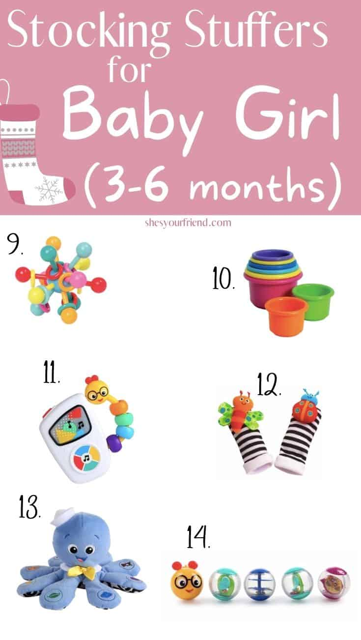 stocking stuffers for baby girl 3 to 6 months old