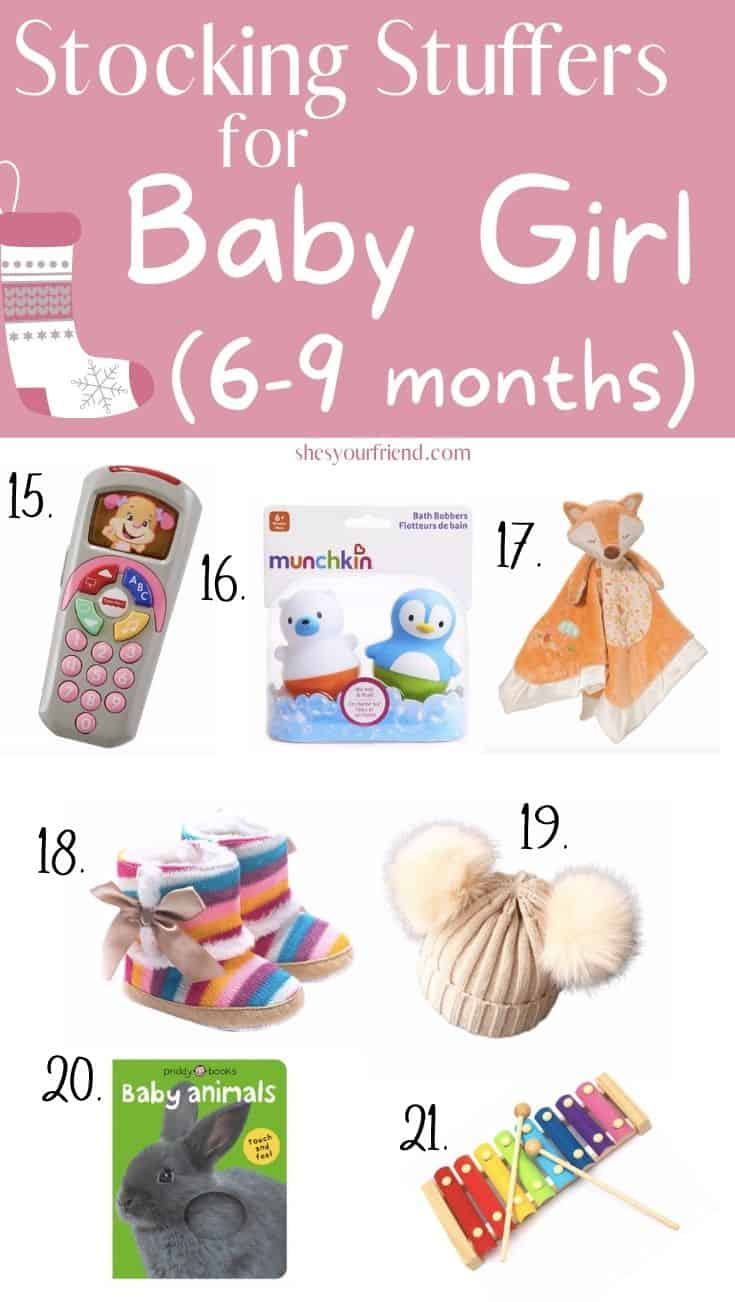 stocking stuffers for baby girl 6-9 months old