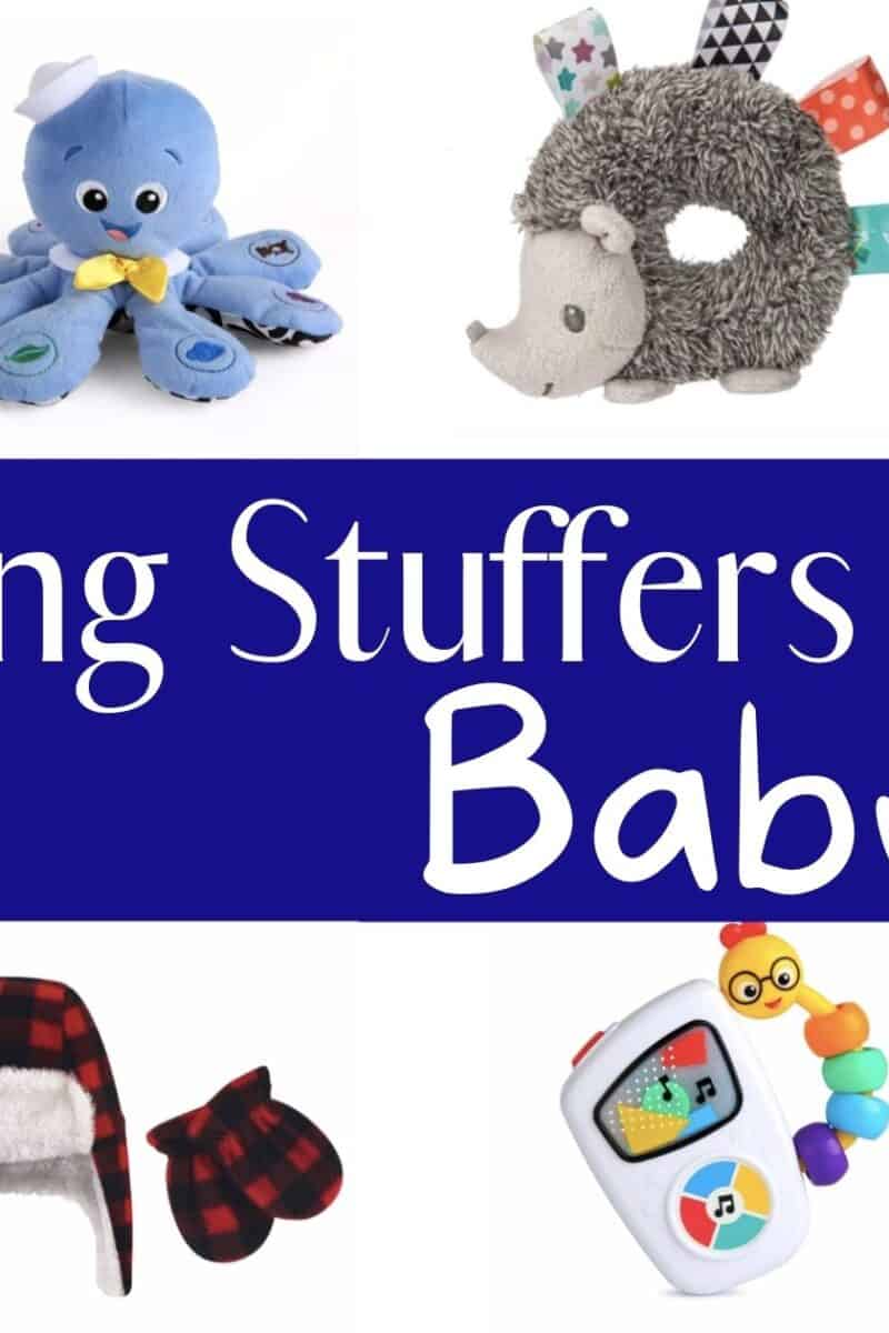 baby toys boots hats and books for stocking stuffer ideas for baby boy