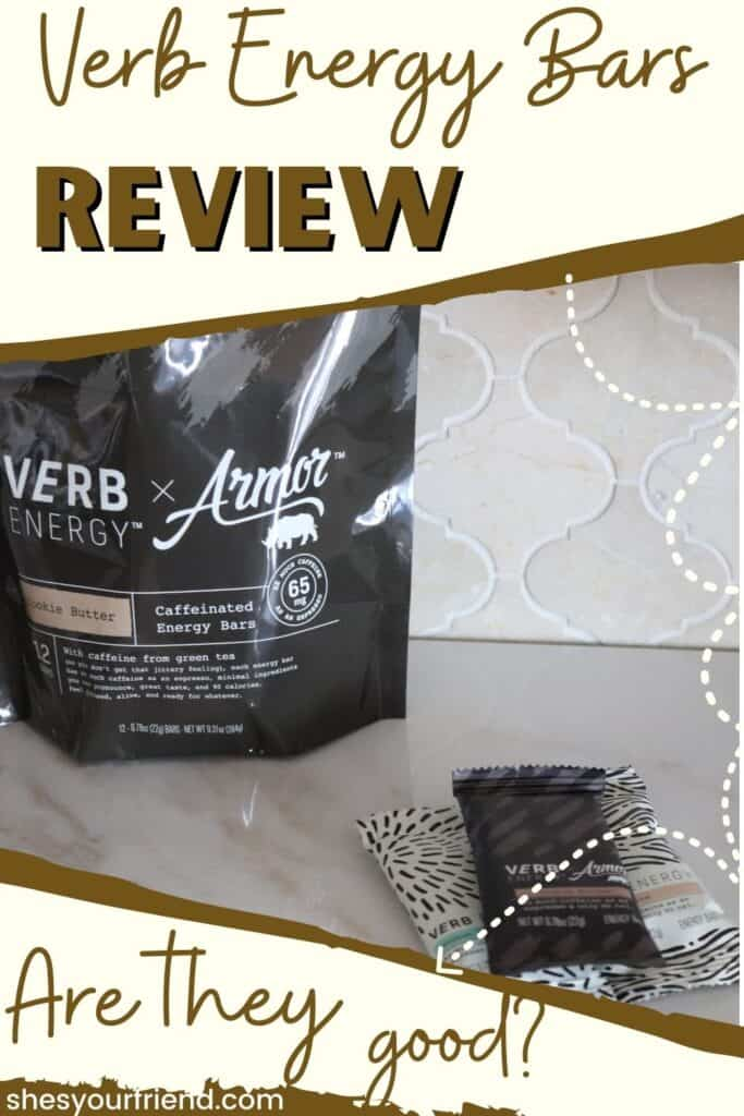 A bag of Verb energy bars