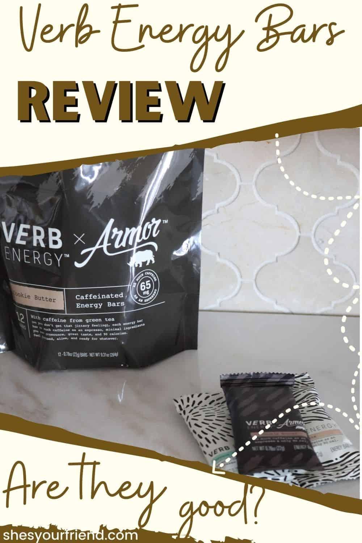 A bag of Verb energy bars