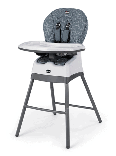 Chicco stack 123 high chair for baby