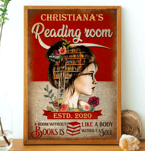 a reading room poster